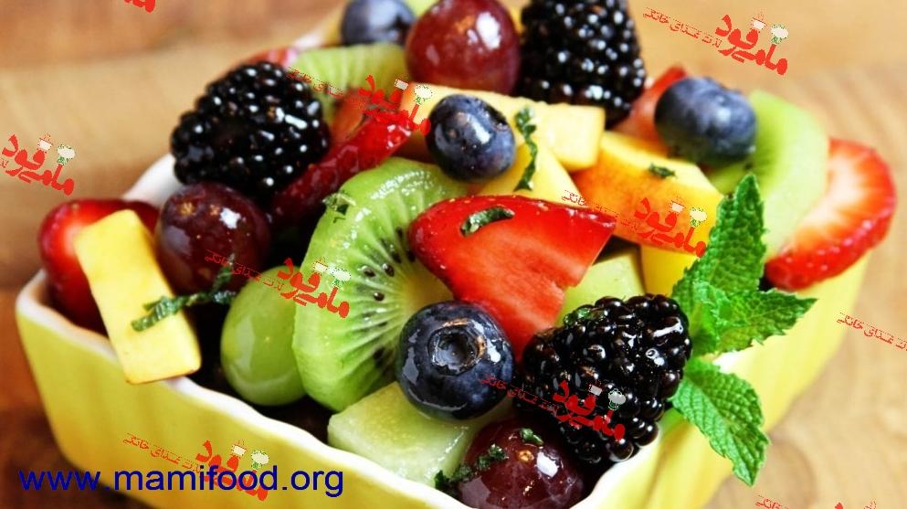 میوه های پخته