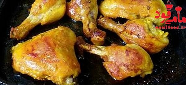 ته انداز مرغ خانگی